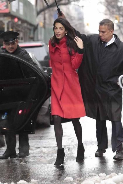 Amal Clooney in Paule Ka