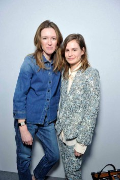 Clare Waight Keller with Christine & the Queens