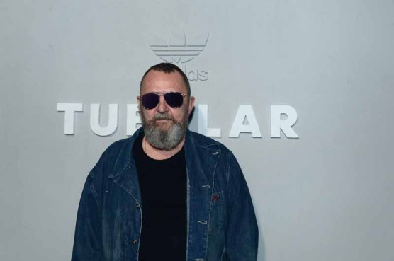 PARIS, FRANCE - JUNE 25: Michel Gaubert attends during the Adidas Originals Tubular Paris Fashion Week Performance on June 25, 2015 in Paris, France. (Photo by Dominique Charriau/Getty Images) *** Local Caption *** Michel Gaubert