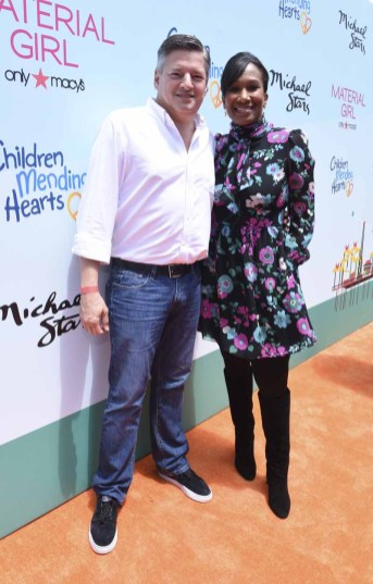 MALIBU, CA - JUNE 14: Ted Sarandros and Ambassador of the United States of America to the Bahamas Nicole Avant attends Children Mending Hearts 7th Annual Fundraiser Presented By Material Girl And Michael Stars on June 14, 2015 in Malibu, California. (Photo by Vivien Killilea/Getty Images for Children Mending Hearts)