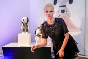 BERLIN, GERMANY - JULY 08: Franziska Knuppe attends the Snoopy & Belle Vernissage at Mercedes-Benz Fashion Week Berlin Spring/Summer 2016 at Ermelerhaus on July 08, 2015 in Berlin, Germany. (Photo by Franziska Krug/Getty Images for SBIFBERLIN)