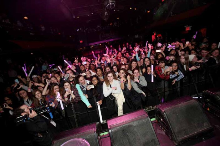 NEW YORK, NY - DECEMBER 10: A general view of atmosphere during Fifth Harmony performance at The Candie's Winter Bash on December 10, 2015 in New York City. (Photo by Cindy Ord/Getty Images for Candie's)
