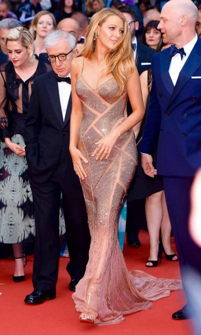 Blake Lively, Woody Allen and Kristen Stewart attend to opening ceremony for the 69th Film Festival in Cannes, France