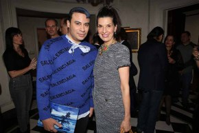 Victor dE Souza and Kathleen Giordano attend Jean Shafiroff