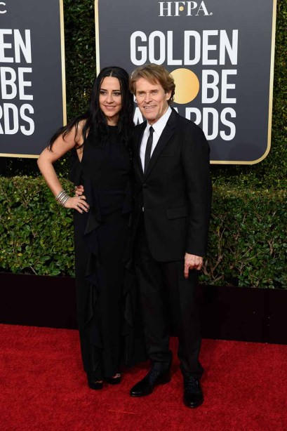Giada Colagrande and Golden Globe nominee Willem Dafoe