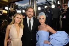 Golden Globe nominee, Kristen Bell, Dax Shepherd and Golden Globe nominee, Lady Gaga