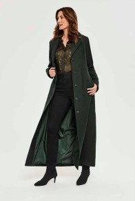 Long Tall Sally Twill Maxi Coat
