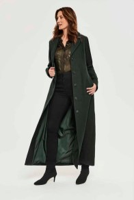 Long Tall Sally Twill Maxi Coat