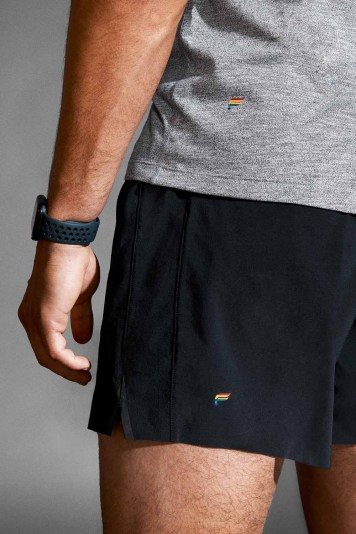 Fabletics Men_Pride Capsule_5 in Stamina Short - Black