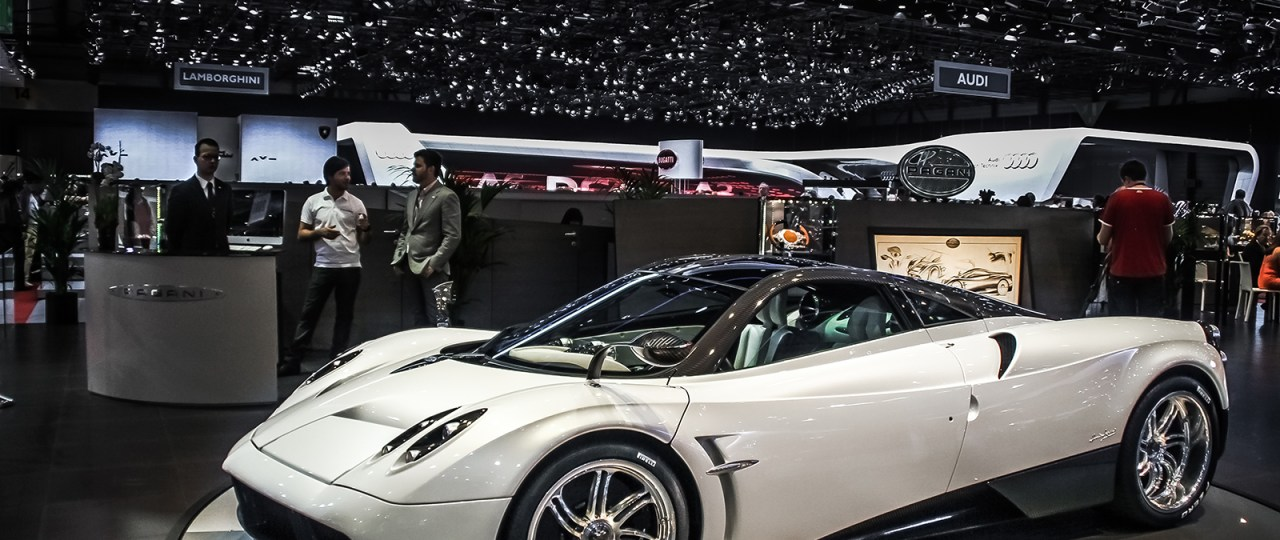 Pagani Huayra Geneva Autoshow 2012