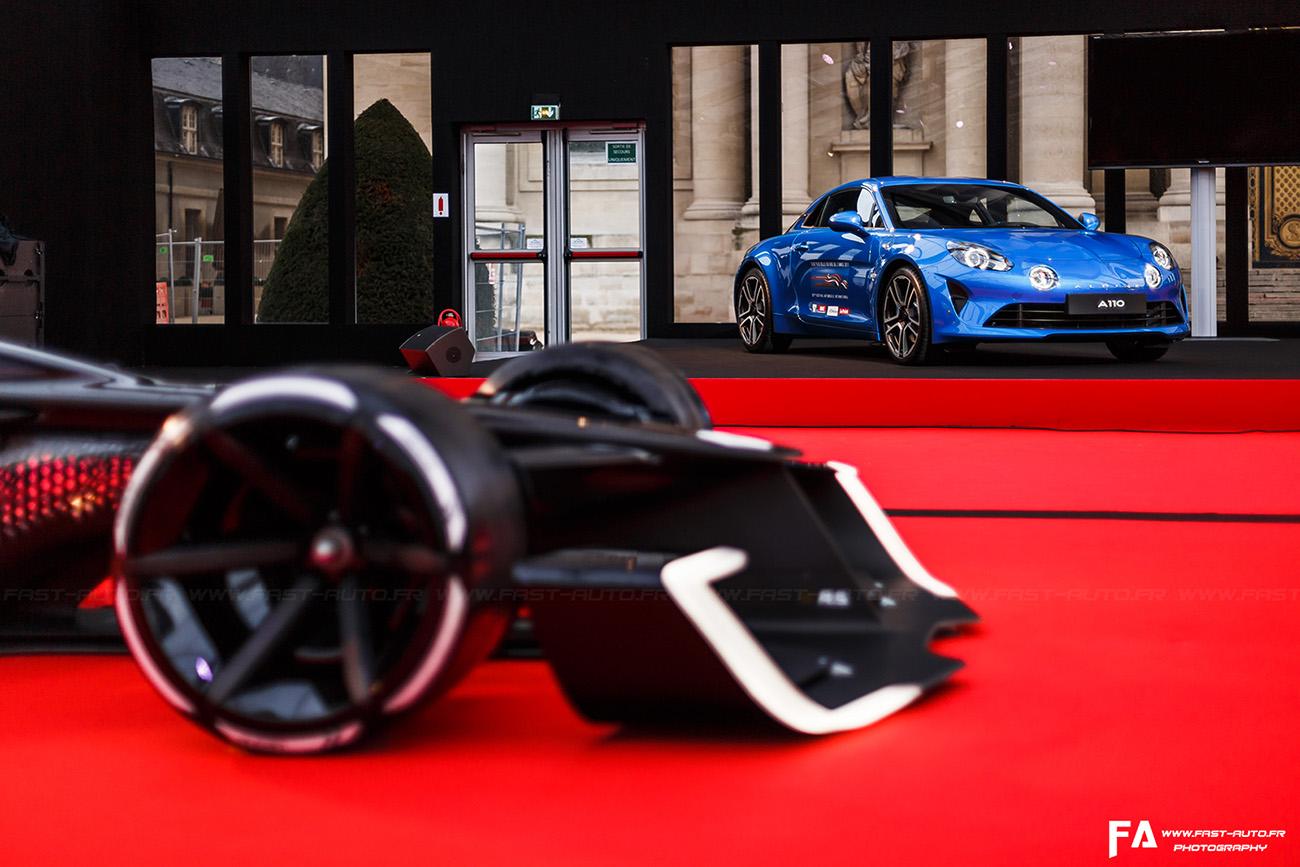 Alpine A110 - Plus belle voiture de l'année (FAI 2018)