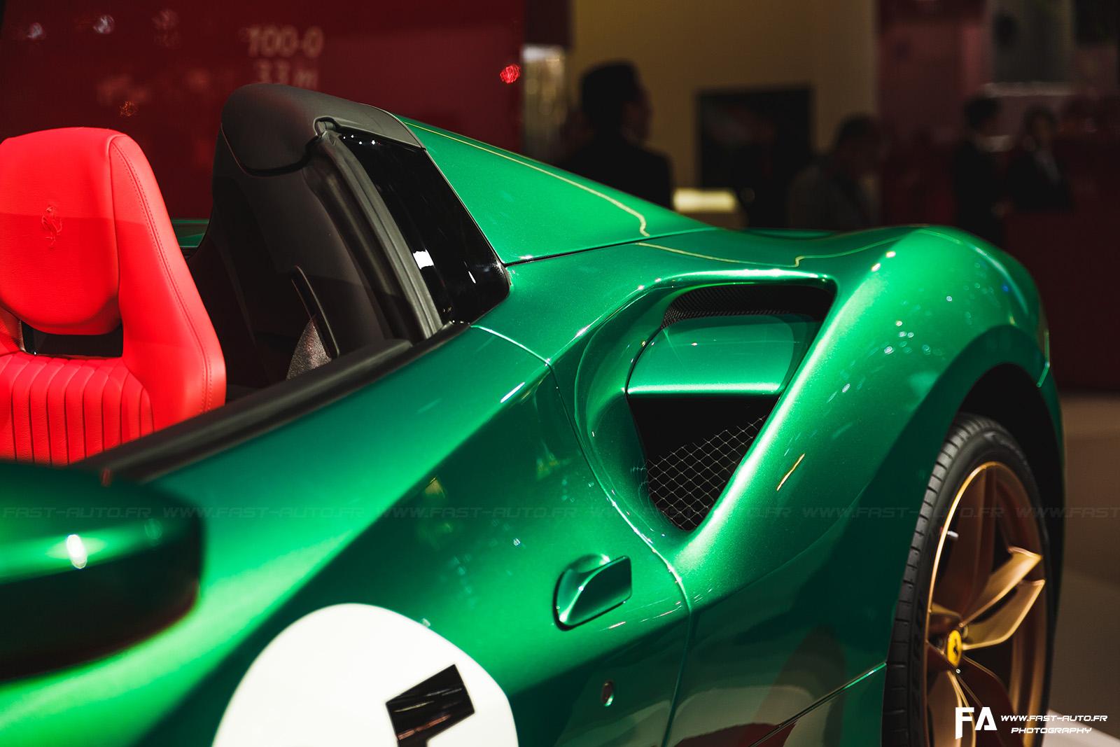Ferrari au Mondial de l'Automobile Paris 2016 - Photos