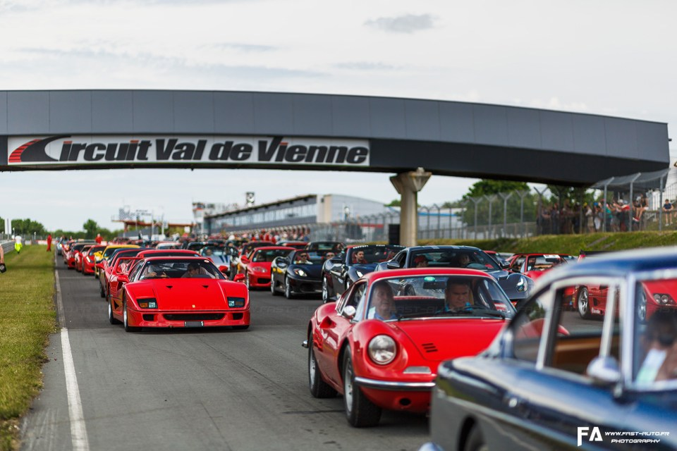 Photos Sport et Collection 2018 - Parade 500 Ferrari