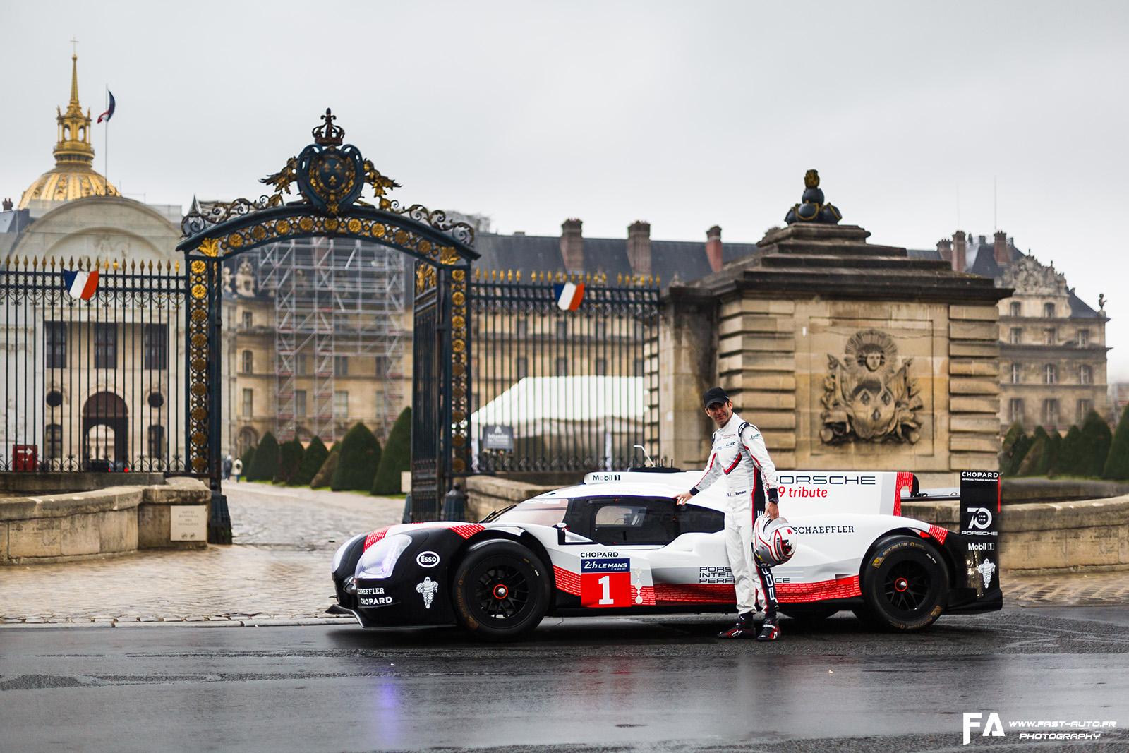 Porsche 919 Tribute Tour (Paris)
