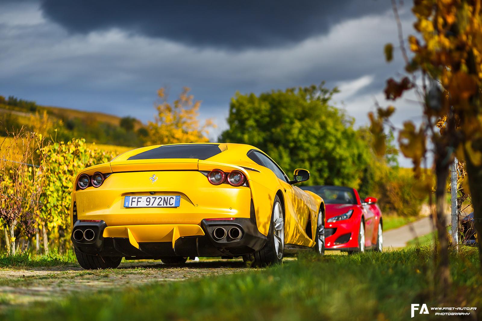 Essai Ferrari 812 Superfast