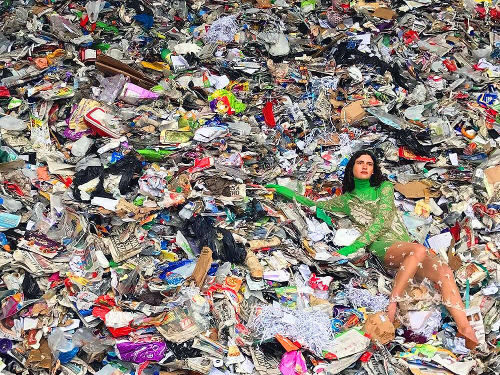The true cost of fast fashion: fast fashion squanders natural resources and is rarely recyclable