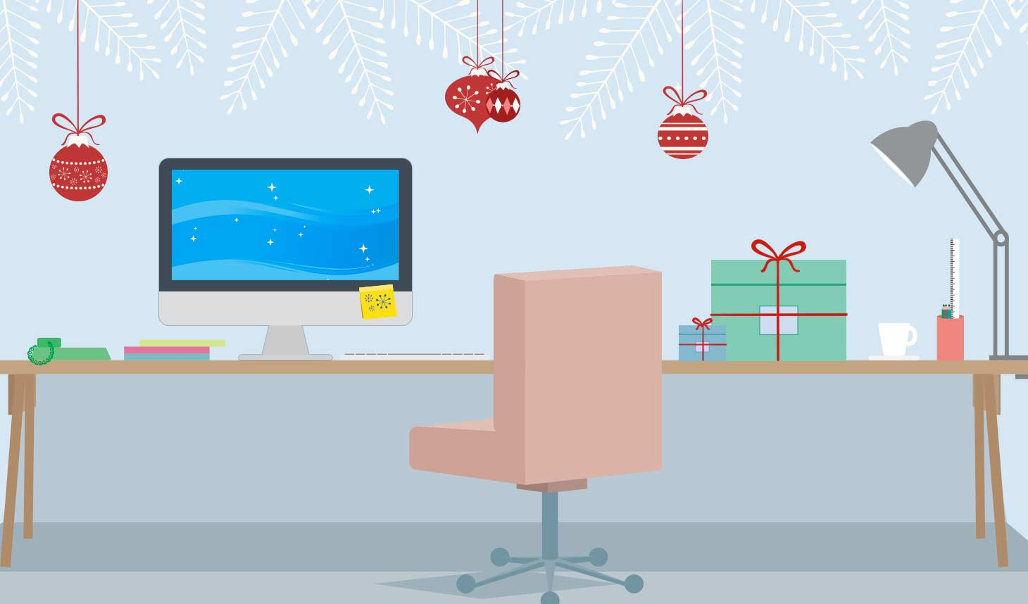Decorating Your Cubicle for the Holidays