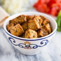 Italian Style Air Fried Tofu
