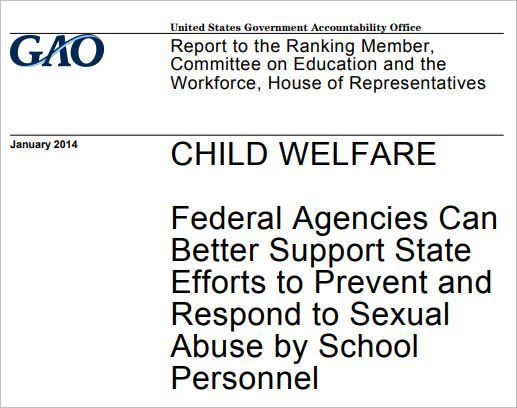 Federal Agencies Can Better Support State Efforts to Prevent and Respond to Sexual Abuse by School Personnel