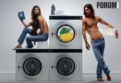 Washing machine make time available