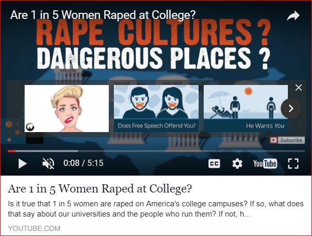 rape culture, video by pragerU.com