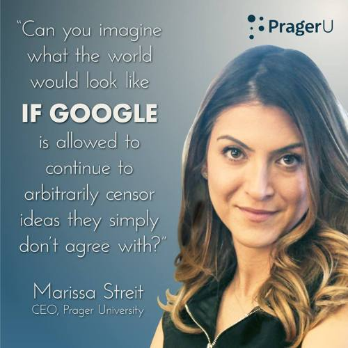 Internet censorship forces contortions: Marisssa Streit is not the messenger. James Damore is.