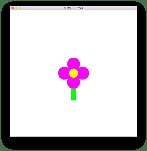 Funzioni personalizzate: flower