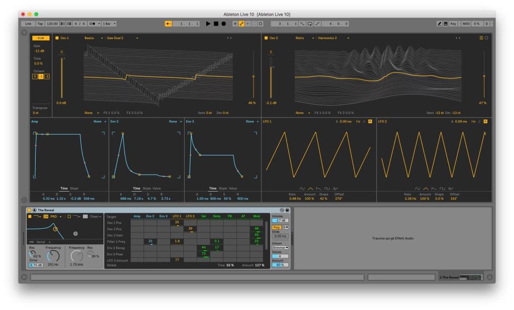 Wavetable - Ableton 10