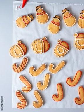 Contours des biscuits