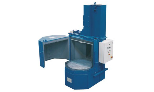 Machine-de-grenaillage-à-table-rotative/ grenailleuse