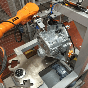 Usinage / Ebavurage par robot