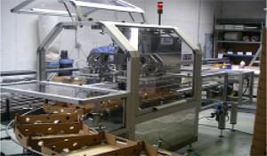 Machine d'encaissage rotative