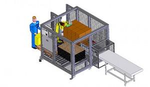 palettisation , machine de conditionnement