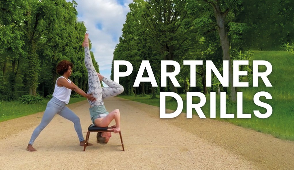 feetup partner drills in the park