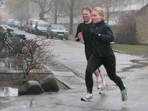 Vintertræning: Ud at løbe