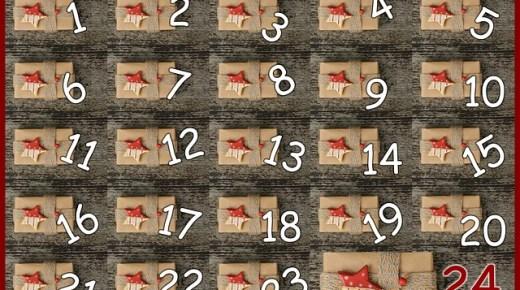 Kalendarz adwentowy… inaczej