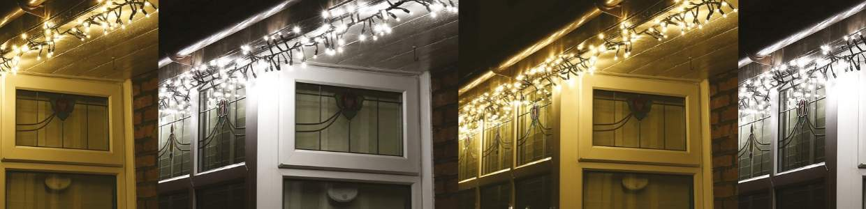 How To Run Christmas Lights Around A Window