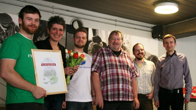 taz.die tageszeitung receives Document Freedom Germany Award
