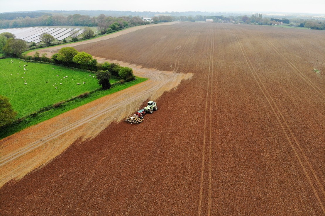 Using drone imagery to help understand farm performance