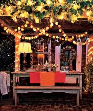 5 Colorful Ways To Decorate Your Pergola For The Fall