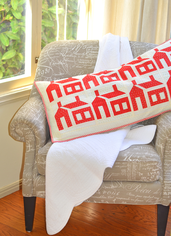 Main pillow on chair