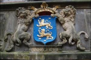 Das Wappen der niederländischen Provinz Fryslan