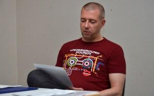 Michael Tinnefeld liest aus seinem Rhodan-reloaded-Roman »Der Unsterbliche – Phase Download«.