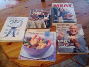 Favourite 5 Cookbooks