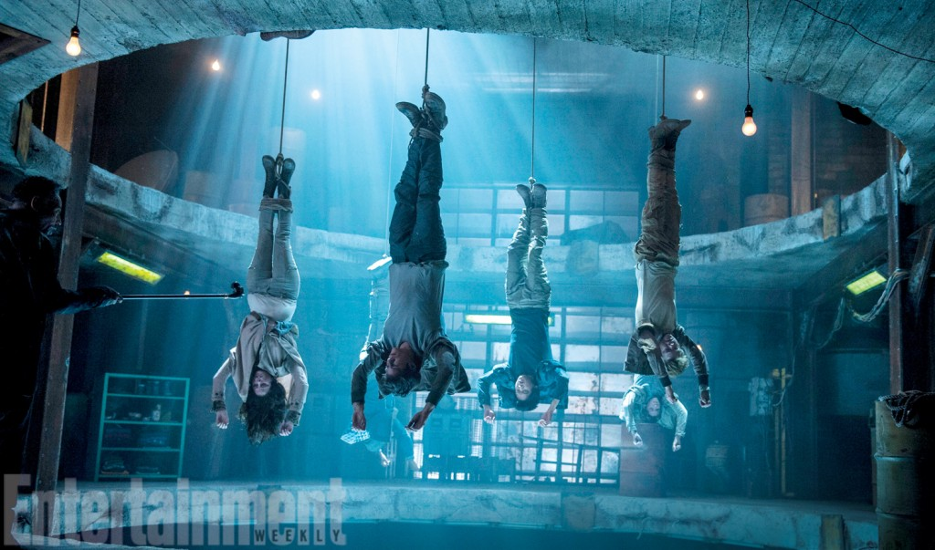 The Gladers just hanging out for a while.