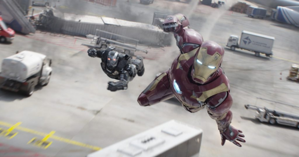 No matter what film, the Iron Man suit still looks awesome!