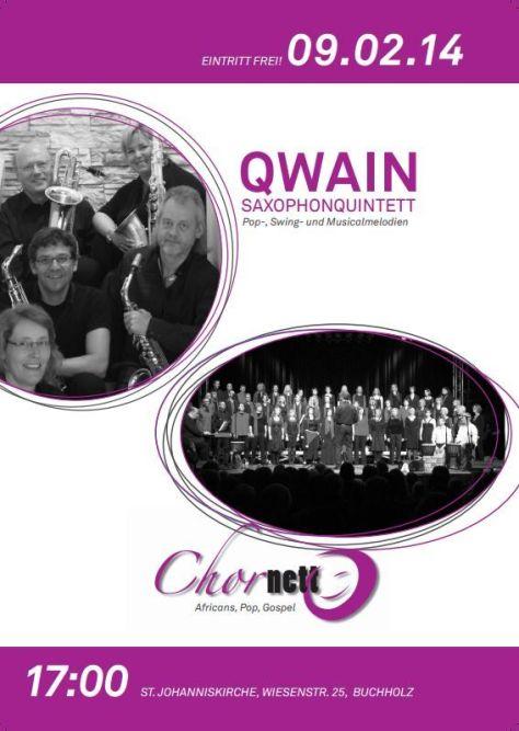 Chornetto gemeinsam mit Qwain - Konzert in Buchholz