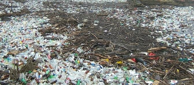 Das Meer ist voller Plastik