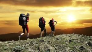 Wandern in großartigen Landschaften