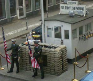 Checkpoint Charlie - Friedrichstrasse Berlin